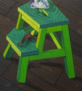 Green Goghney 2011, 61x55 cm