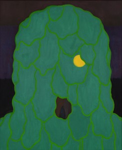 Cabbage Head 2011, 61x50 cm