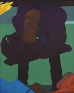 Flesh walk 2011, 140x112 cm