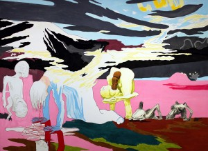 I Getsemane 2004, 176,5x240 cm