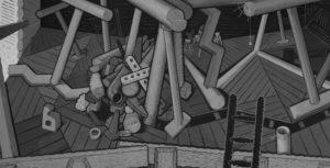Loft 179x350cm 2017 ooc